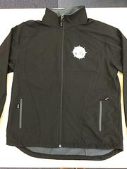 SA Branch Jackets - Black Soft Shell Jackets – SA Branch logo on Front 'MUA' on back right hand shoulder