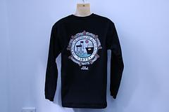 QNC - Long Sleeve - Black (Men's) - Quadrennial National Conference – Black Long Sleeve ShirtArt by Reg Mombassa