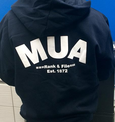 MUA Rank & File Zip Hoodies