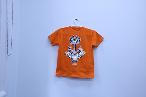 QNC - Kid\'s T-Shirt Short Sleeve Orange