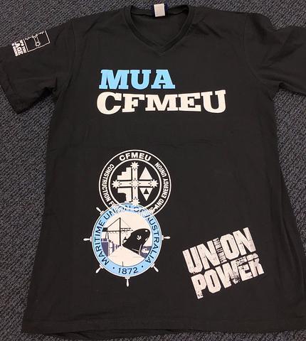 MUA - CFMEU T-Shirts