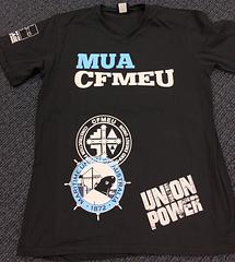 MUA - CFMEU T-Shirts - Australian Made – Union Made T-Shirts