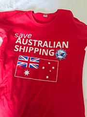 Save Australian Shipping - Save Australian ShippingAustralian Made shirts – of course!
