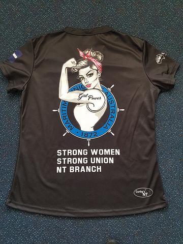 NT MUA Womens Shirts - Black