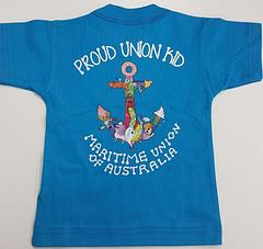 Proud Union Kid Shirts - Australian Made Union Made Proud Union Kid Shirt